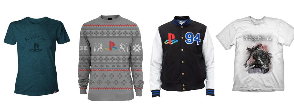 Der PlayStation Gear-Store ist jetzt in Europa verfügbar