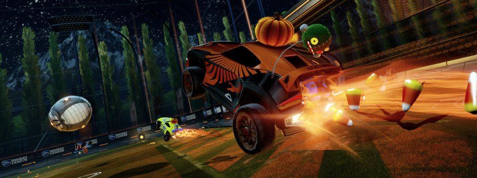 Süßes oder Saures! Rocket League als Laufsteg – nicht nur zur Halloween Zeit!