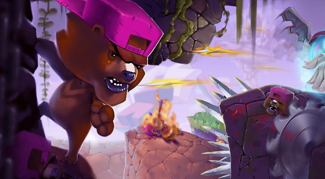 Super Rude Bear Resurrection erscheint für PS4 und macht Jump-'n'-Run-Spiele für alle zum Erfolgserlebnis