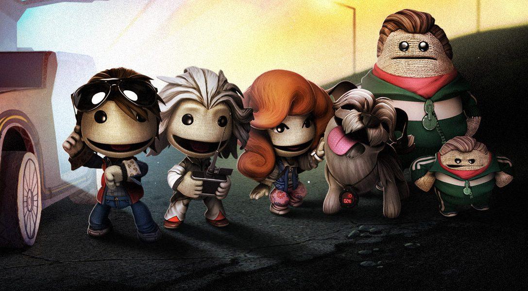 """Für LittleBigPlanet 3 erscheint heute der herunterladbare Inhalt """"Zurück in die Zukunft"""""""