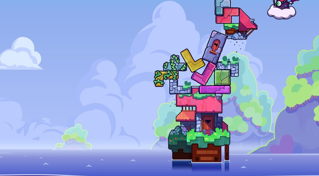 Das wilde Action-Puzzlespiel Tricky Towers stürzt sich auf PS4