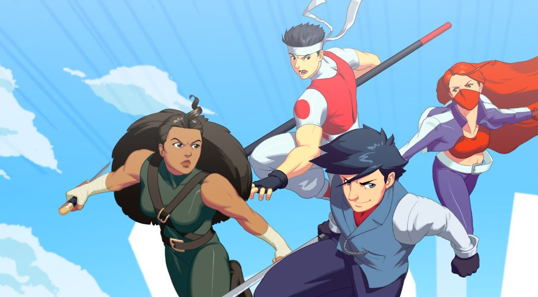 Brawl while you fall – SkyScrappers ab heute auf PS4