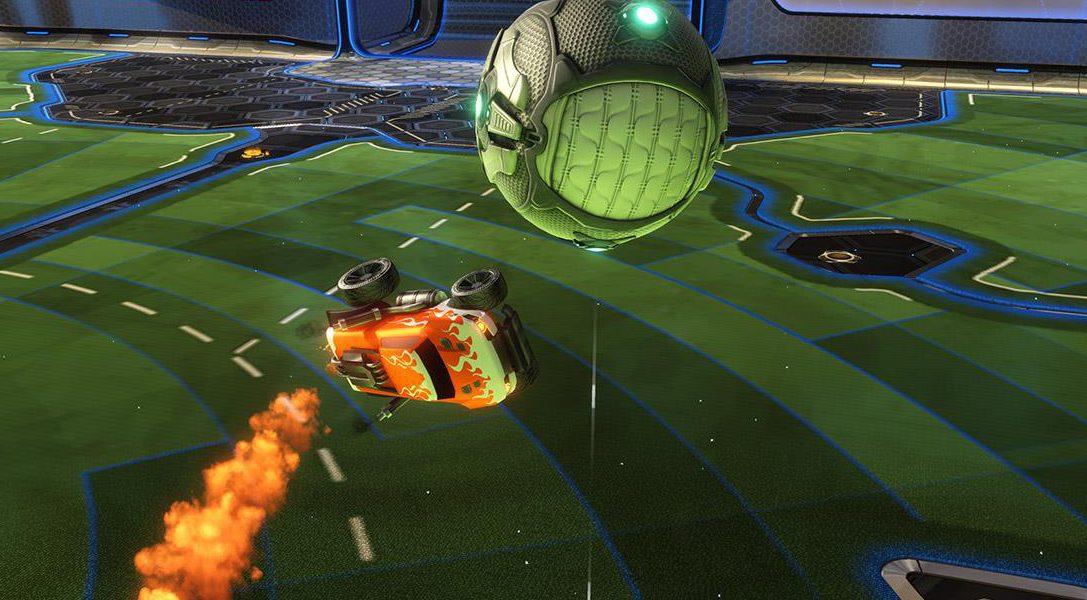 Alle Autos fliegen hoch – so hebt ihr in Rocket League ab
