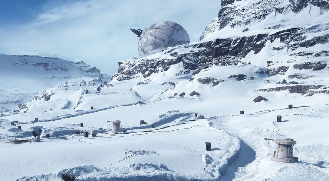 Star Wars: Battlefront: Wie die Karten zum ikonischen Planeten Hoth geschaffen wurden