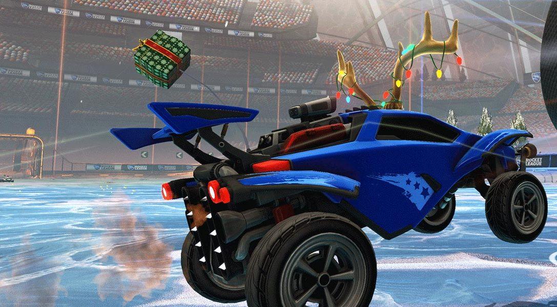"""Rocket League startet nächsten Monat die kostenlosen """"Winter Games"""""""