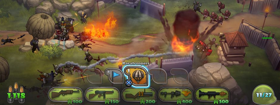Das Strategiespiel Guns Up! kann nächste Woche kostenlos für PS4 heruntergeladen werden