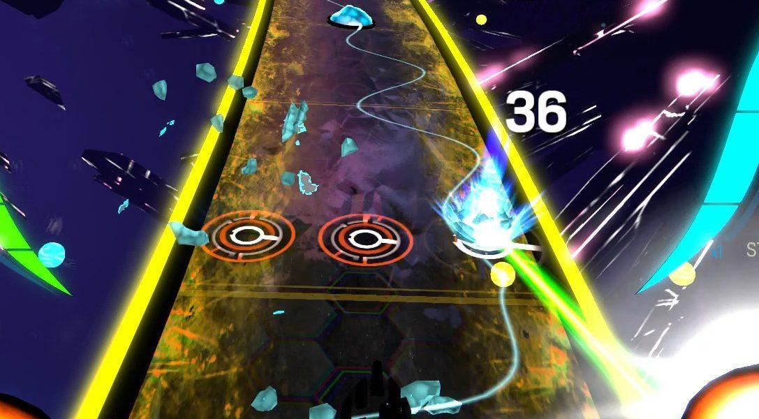 Amplitude auf PS4: Spielt im FreQuency-Stil