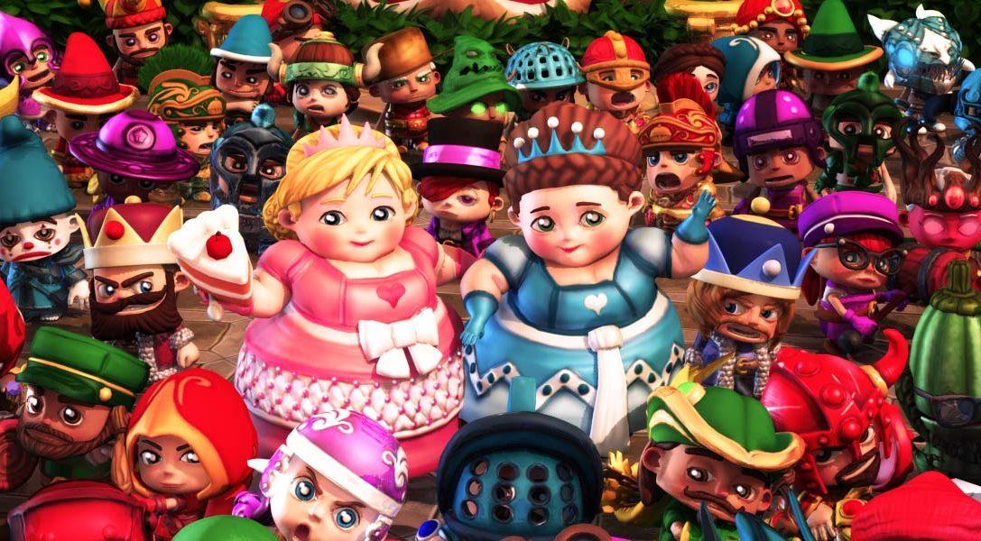 Fat Princess Adventures ist jetzt im PlayStation Store verfügbar