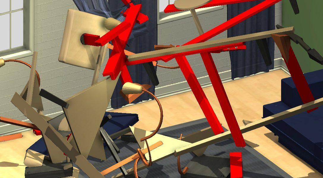Der abgefahrene Möbel-Aufbau-Simulator Home Improvisation erscheint für PS4