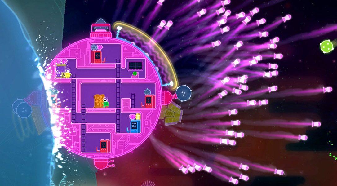 Der Couch-Koop-Hit Lovers in a Dangerous Spacetime wird im Februar auf PS4 veröffentlicht