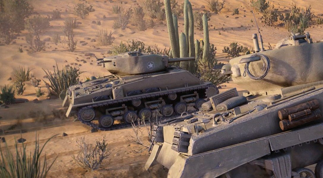 World of Tanks für PS4 ab heute im PlayStation Store