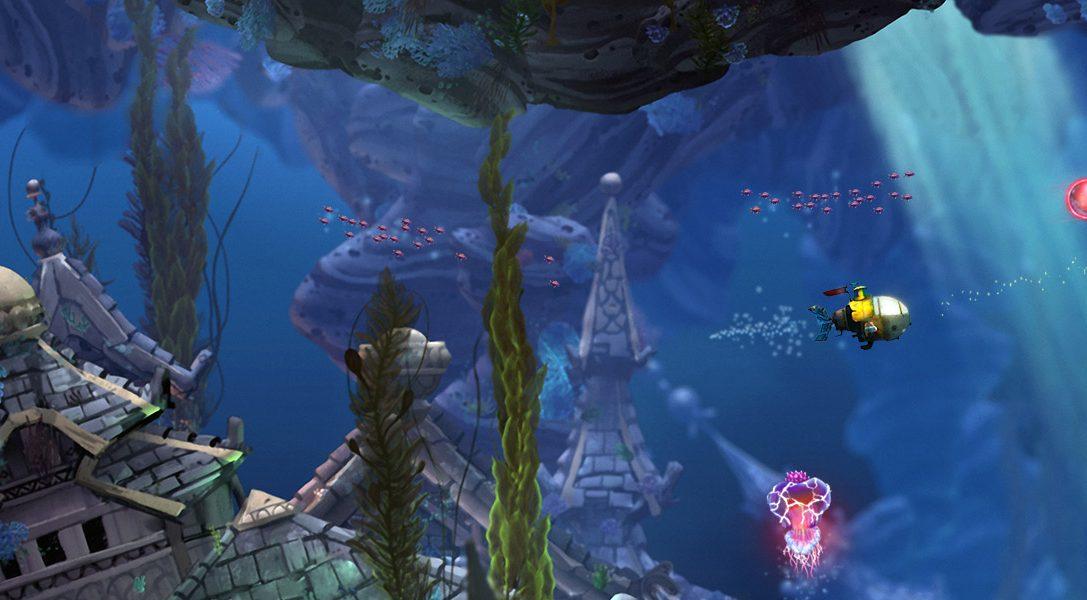 Insomniac Games kündigt Unterwasser-Abenteuer Song of the Deep für PS4 an