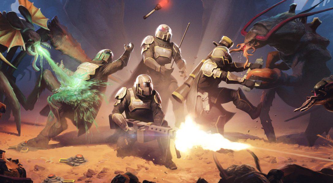 PlayStation Plus im Februar: Helldivers, Nom Nom Galaxy und vieles mehr