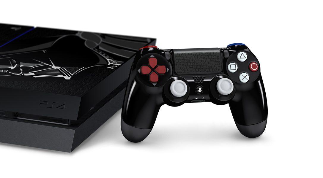 Mitmachen und gewinnen: Holt euch die PS4 im Darth Vader-Design nach Hause