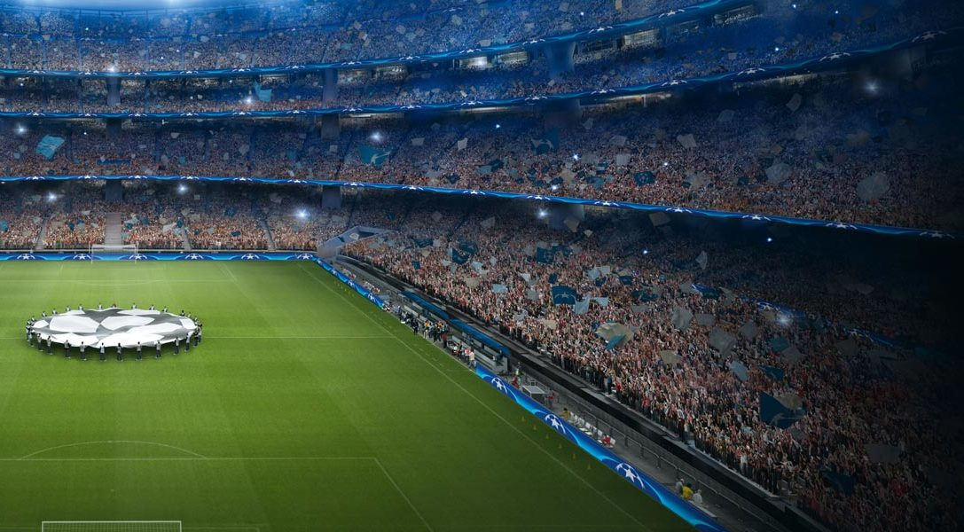 Gewinne UEFA Champions League Tickets mit der PlayStation F.C. UEFA Champions League App