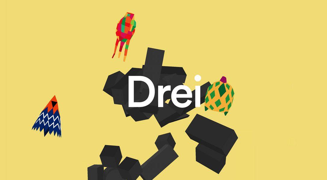 Dreii – das etwas andere Geschicklichkeitsspiel ab heute im PlayStation Store