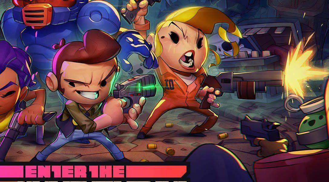Enter the Gungeon rollt sich nächsten Monat auf PS4