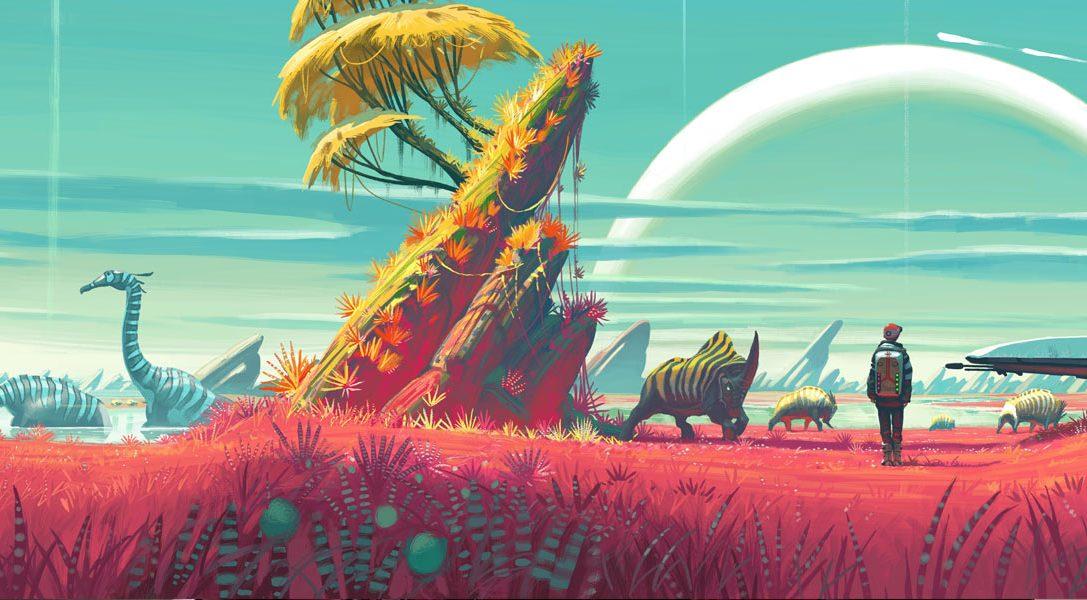 Wie die Designer von Hello Games das unendliche Universum von No Man's Sky entwarfen
