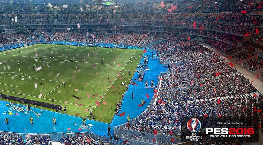 PES 2016 – UEFA Euro 2016 erscheint heute für PS3 und PS4