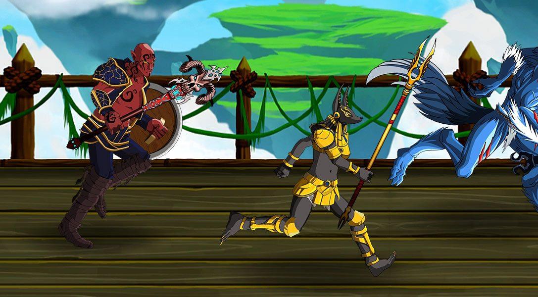 Tagteam-RPG-Kampfspiel Dungeon Punks für PS4 angekündigt