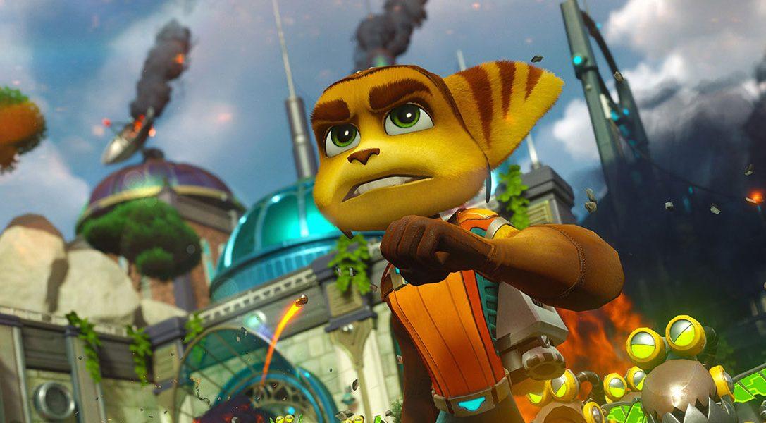 Ratchet & Clank kehren heute mit Wumms auf PS4 zurück