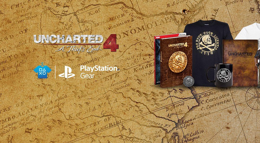 Uncharted 4 stürmt den PlayStation Gear Store