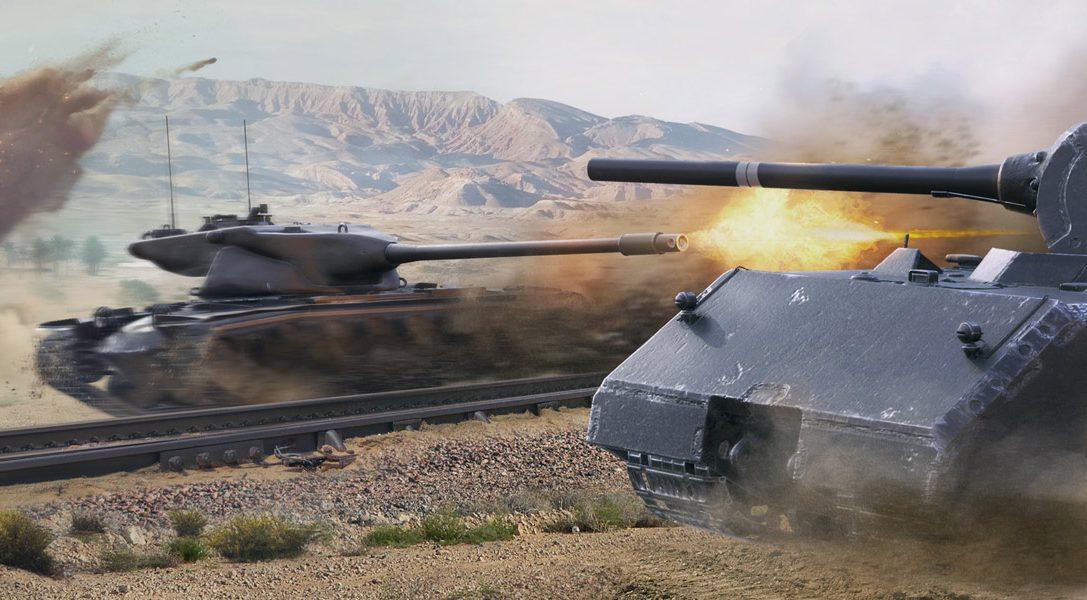"""World of Tanks-Update """"Kaiserlicher Stahl"""" rollt heute auf PS4"""