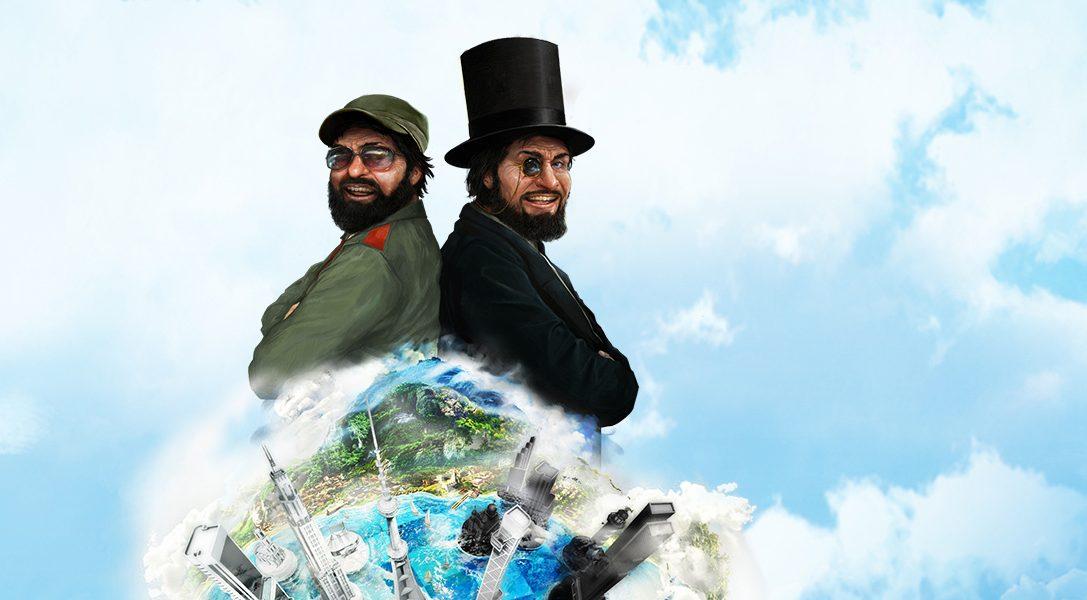 Im Mai bei PlayStation Plus: Tropico 5, Table Top Racing und vieles mehr
