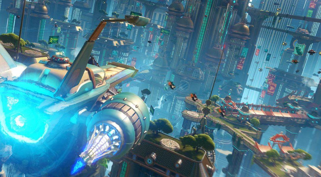 Sichert euch Eintrittskarten für Ratchet & Clanks Rückkehr im Kino und auf PS4