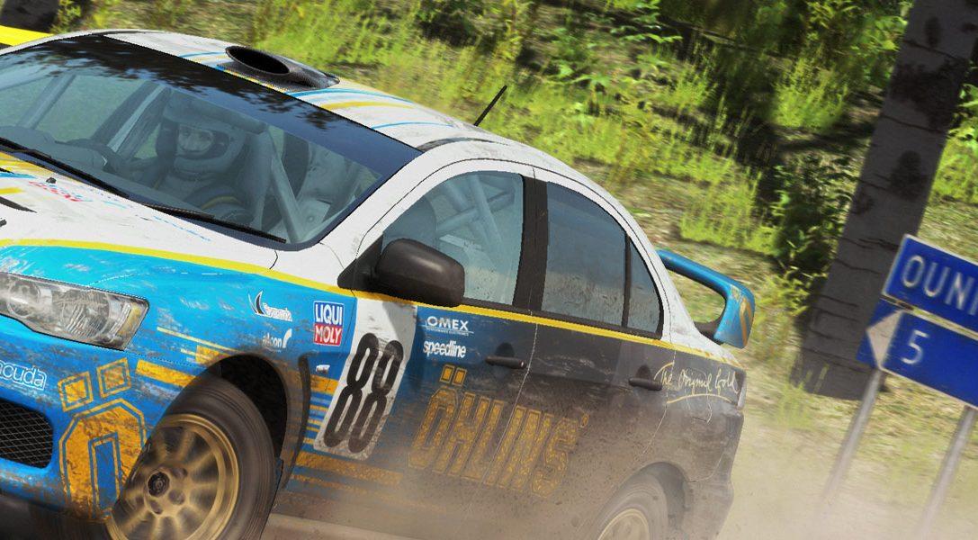 Das meisterhafte Rennspiel DiRT Rally ist jetzt für PS4 erhältlich