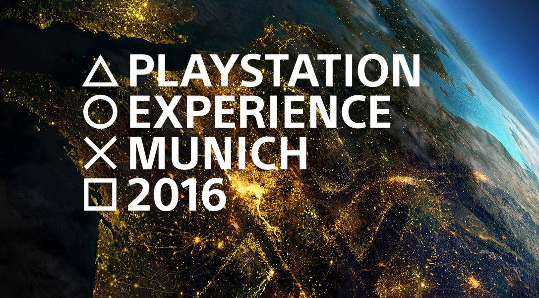Sony präsentiert die Highlights des kommenden Jahres auf der PlayStation Experience 2016 in München