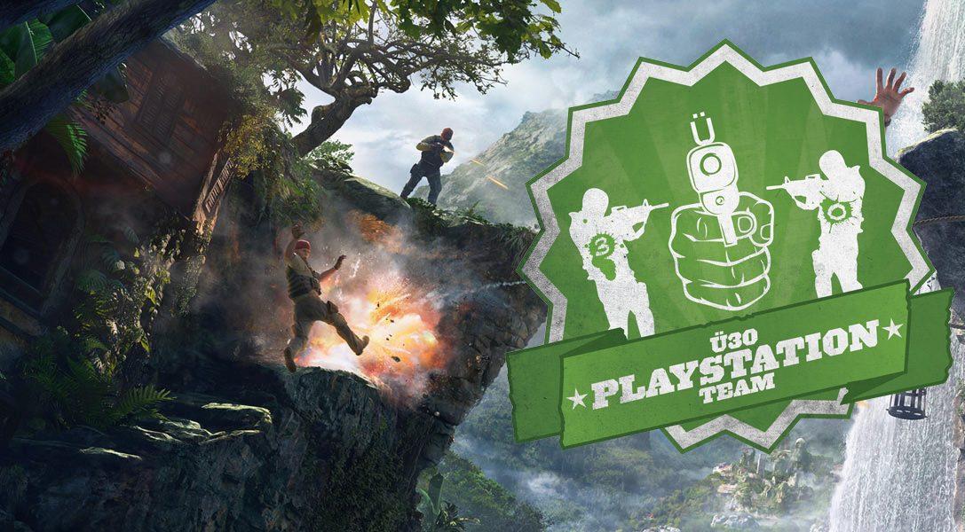 Das Ü30 PlayStation-Team im Uncharted 4-Talk