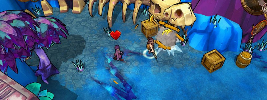 Das prozedural generierte Erkundungsabenteuer Lost Sea erscheint nächsten Monat für PS4