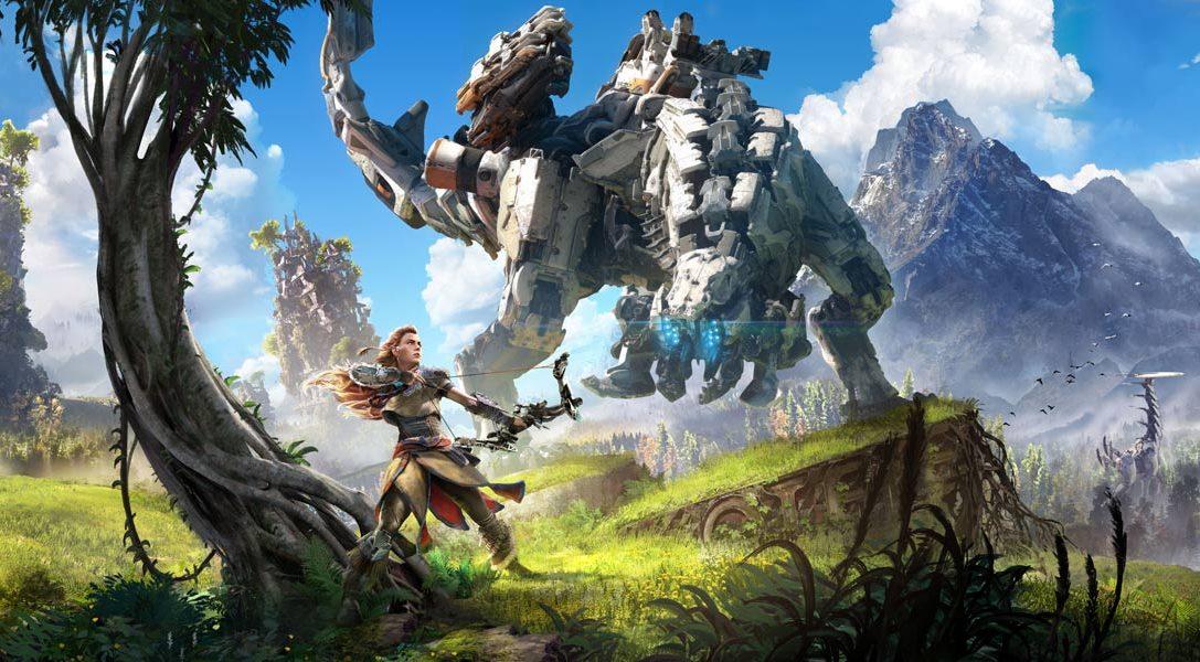 Neues Gameplay-Videomaterial zu Horizon Zero Dawn erstmalig auf der E3