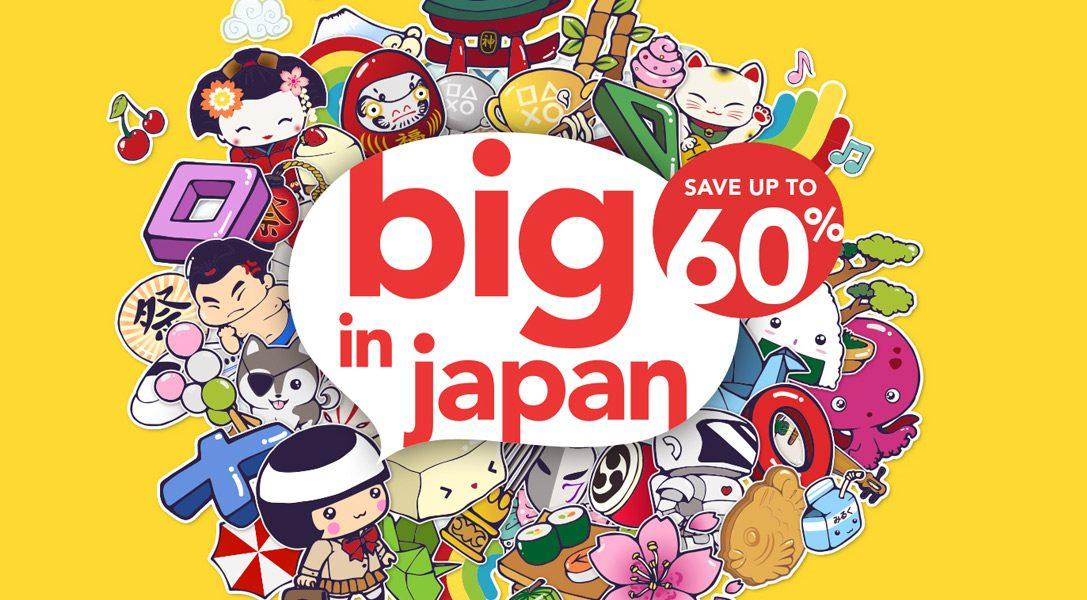 Big in Japan-Angebote starten heute im PlayStation Store wieder durch