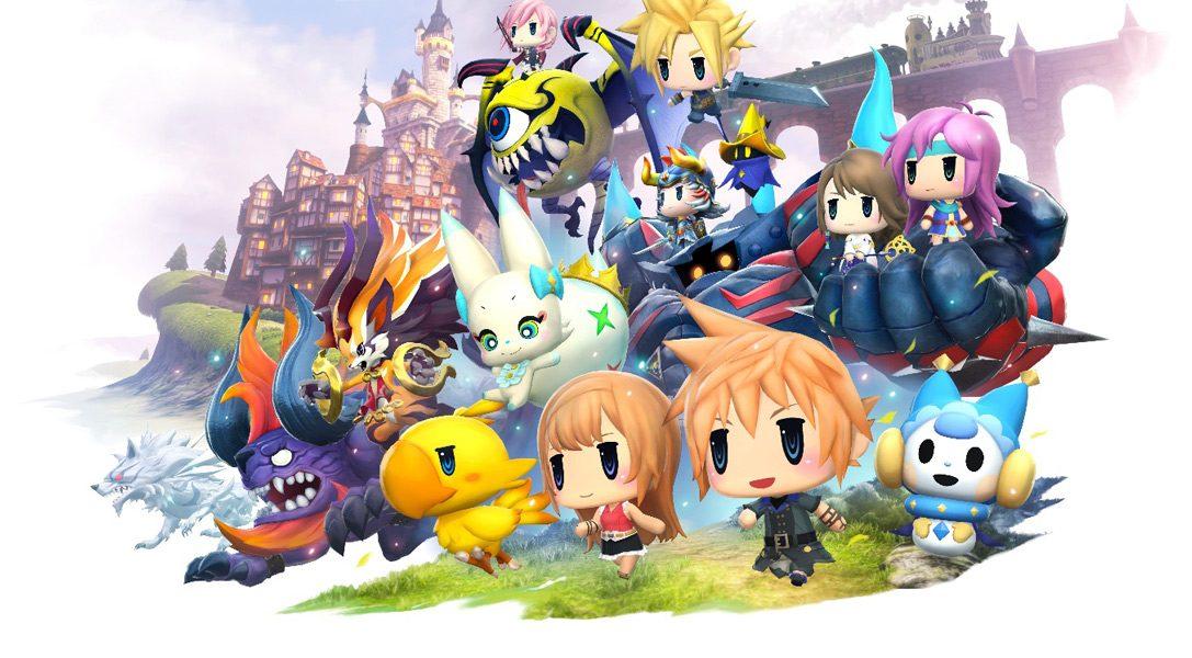 World of Final Fantasy erscheint diesen Oktober auf PS4 und PS Vita