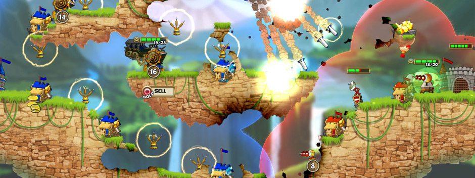 Das rasante 2D-Echtzeit-Strategiespiel Cannon Brawl erscheint am 3. August für PS4