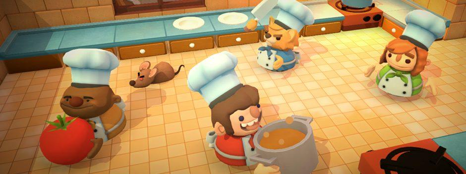 Couch-Koop-Cook 'em Up Overcooked erscheint am 3. August für PS4