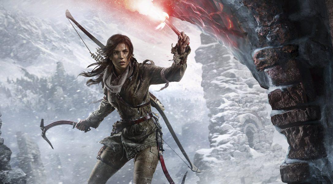 Rise Of The Tomb Raider erscheint mit einem neuen PS VR-Kapitel für PS4