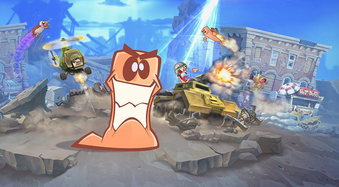 Worms W.M.D peilt die Veröffentlichung auf PS4 für den 23. August an
