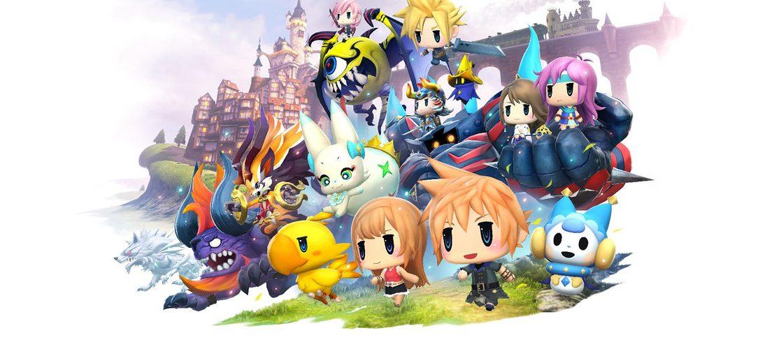 Werft einen Blick auf die World of Final Fantasy Collector's Edition