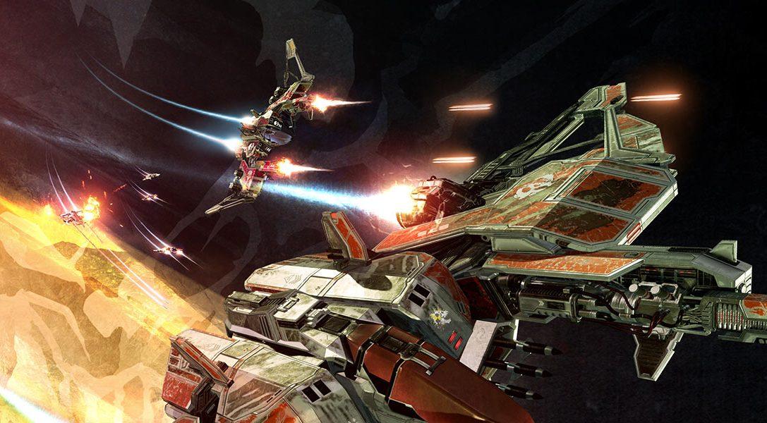 Wie EVE: Valkyrie das Head-Tracking von PlayStation VR für unglaubliche Raumkämpfe nutzt