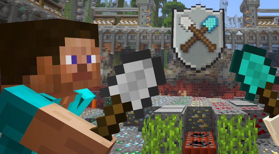 Minecraft Tumble Mini-Game jetzt verfügbar