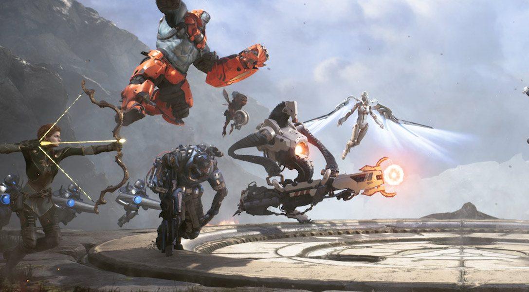 Paragon startet heute in die offene Beta auf PS4