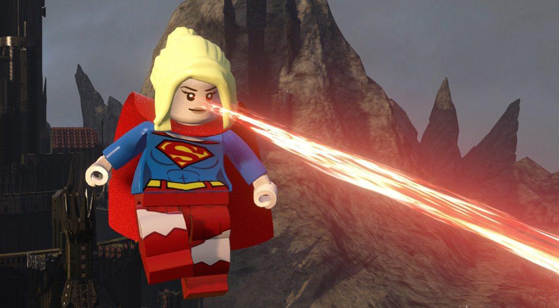 Supergirl erobert LEGO Dimensions auf PS4