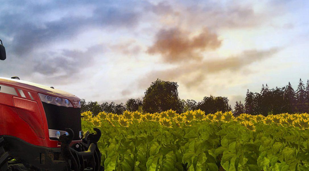 Farming Simulator 17 rollt diesen Oktober auf PS4 – mit Zügen, Schweinen und vielem mehr!