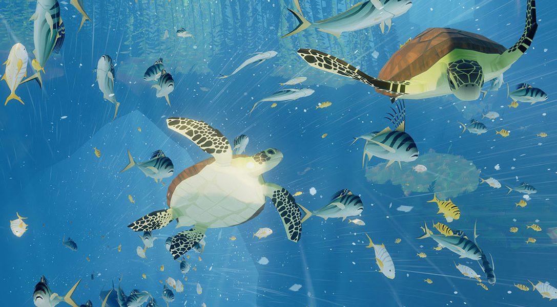 Das Unterwasser-Abenteuer ABZÛ taucht heute für PS4 auf