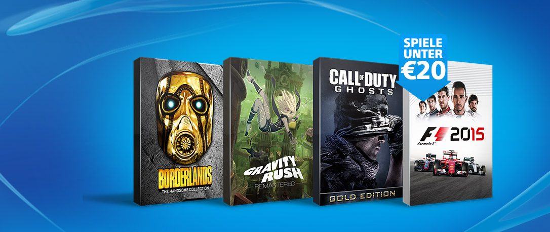 Spiele unter €20 und mehr – Neue Angebote im PlayStation Store