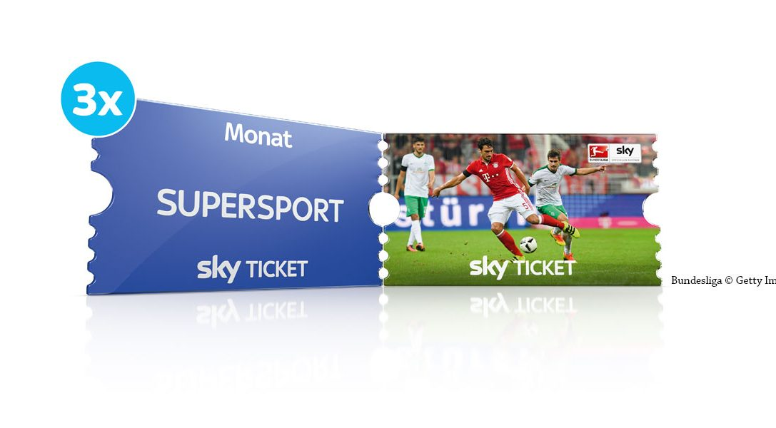 Jetzt das Sky Supersport Monatsticket 3 Monate zum halben Preis auf deiner Playstation sichern