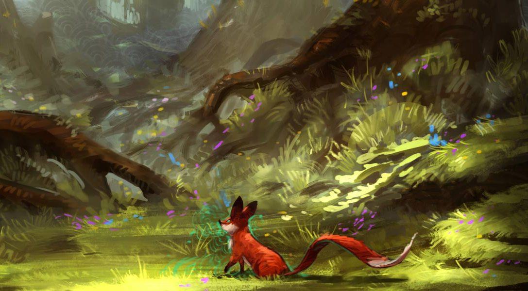 Handgezeichneter Puzzler Seasons After Fall für PS4 angekündigt
